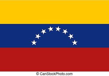 Venezuela flag background - Creative design of Venezuela...