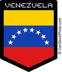 Venezuela flag emblem - Creative design of Venezuela flag...