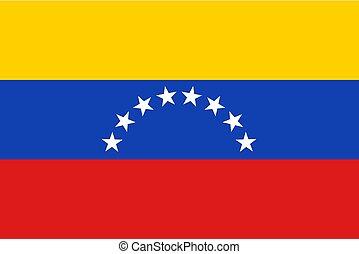 Venezuela flag illustration - Creative design of Venezuela...
