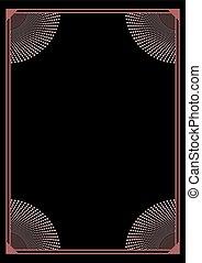 vertical elegant frame cover