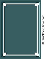 vertical original frame cover