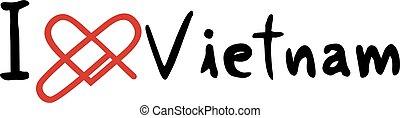 Vietnam love message
