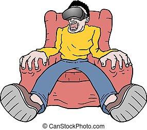 virtual reality entertainment - Creative design of virtual...