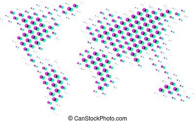 visual world map style