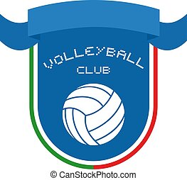 Volleyball club emblem