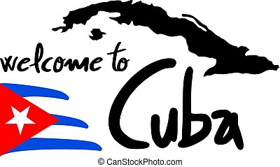 welcome to Cuba message
