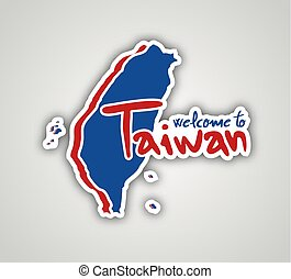 Welcome to Taiwan symbol