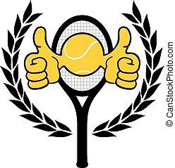 Winner tennis