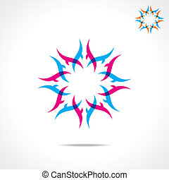 creative design symbol
