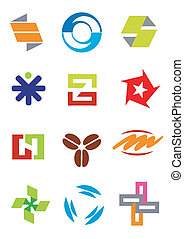 Creative design symbols icons