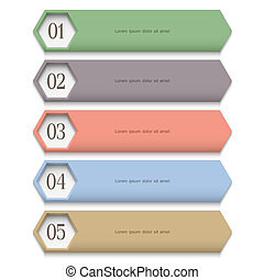 Creative Design template in pastel colors