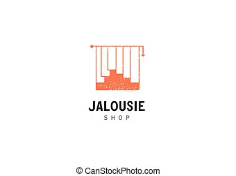 Creative development jalousie shop logo