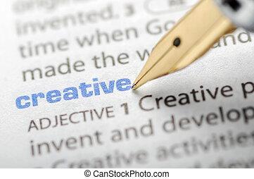 Creative - Dictionary Series