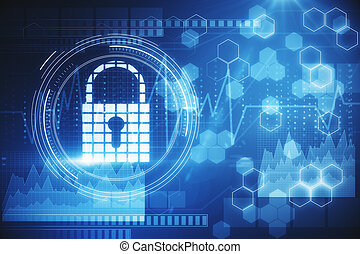 Web safety and privacy concept