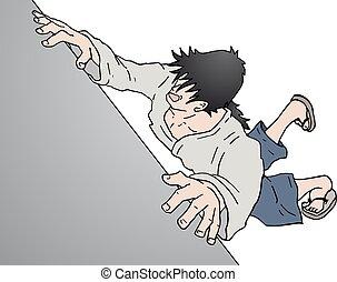 character handing