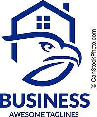 eagle house real estate logo