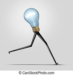 Creative Energy - Creative energy and quick thinking...