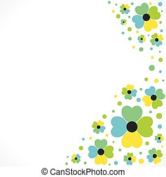 creative flora banner design