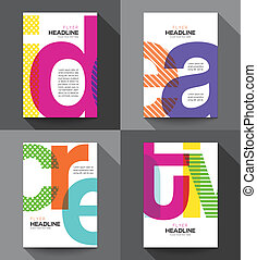Creative Flyer design template