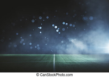 Creative football field background