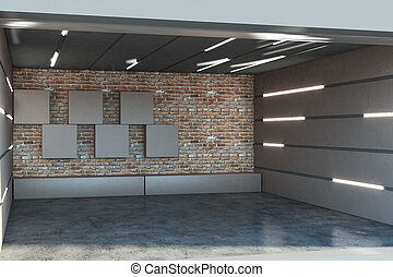 Creative garage interior