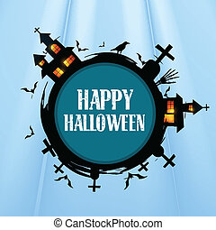creative halloween design