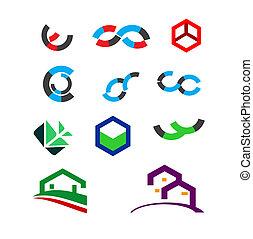 Creative Icons and logo Set
