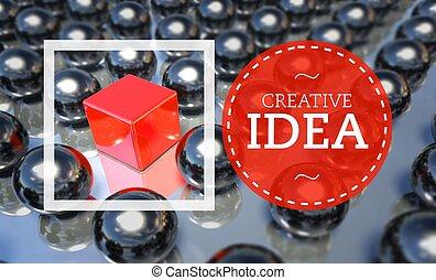 Creative idea business unique, concept
