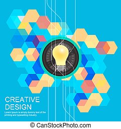 Creative idea concept design