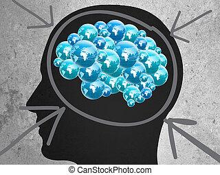 creative idea. Education Concept