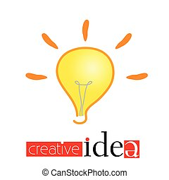 creative idea vector illustration