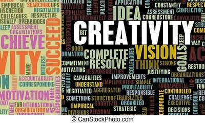 Creative Ideas and Solutions as Looping Slideshow