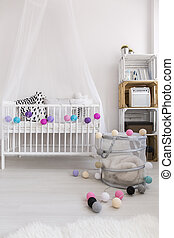 Creative ideas for designing a nursery