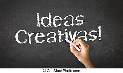 Creative ideas (In Spanish)