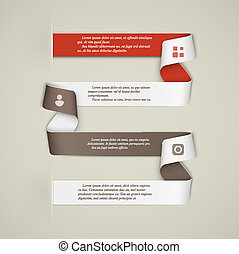 Creative infographics template
