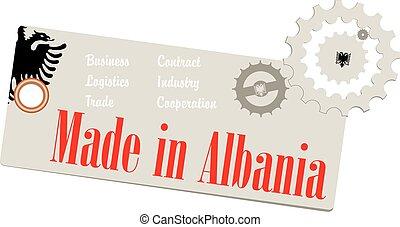 Creative Label Made in Albania