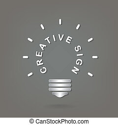 Creative light bulb Idea concept background design for poster flyer cover brochure ,business dea ,abstract background.vector illustration