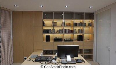 Creative living room - living room with big window interior
