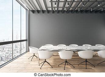 Creative meeting room interior