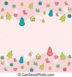 creative merry christmas background