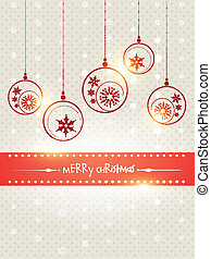 creative merry christmas design