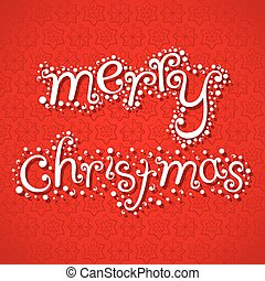 merry christmas greeting design