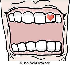 Creative mouth - Creative design of Creative mouth