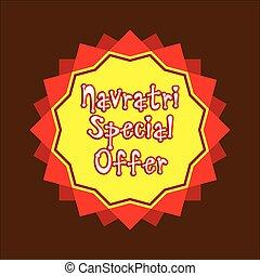navratri special offer banner