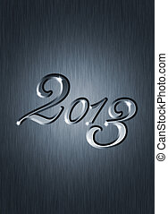 creative new year 2013 design.