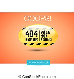 Creative page not found, 404 error