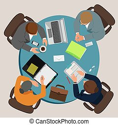 creative people concept, brainstorm