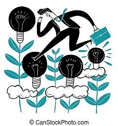 creative., pessoas negócio