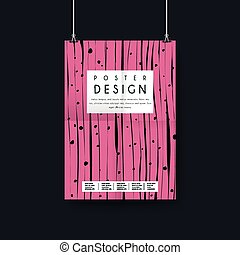 creative poster template design