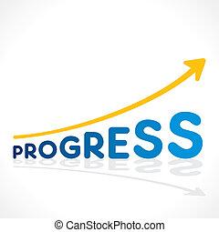 creative progress word growth graph